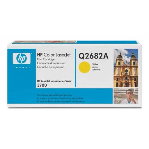 HP Q2682A, Toner Cartridge HC Yellow, 3700- Original