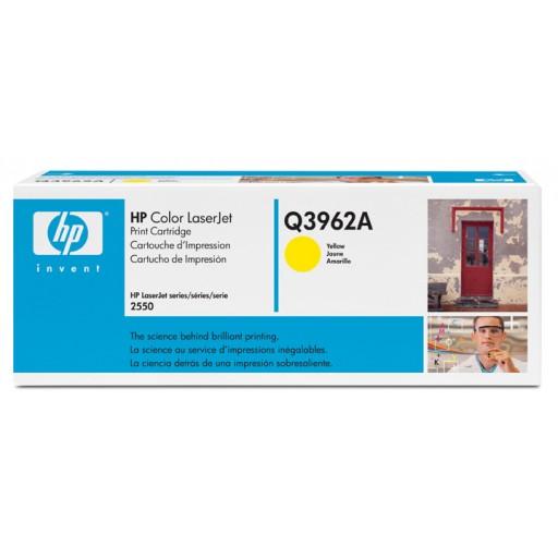 HP Q3962A, Toner Cartridge- Yellow, 2500, 2800, 2820, 2840- Original