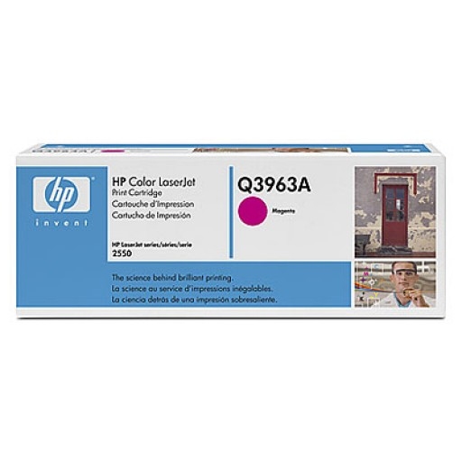 HP Q3963A, Toner Cartridge- Magenta, 2500, 2800, 2820, 2840- Original