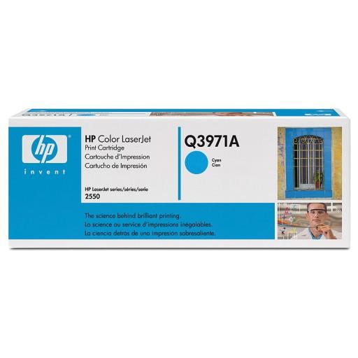 HP Q3971A, Toner Cartridge- Light user Cyan, 2500, 2800, 2820, 2840- Original