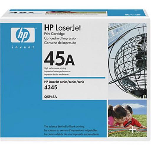 HP Q5945A, Toner Cartridge Black, 4345, M4345- Original