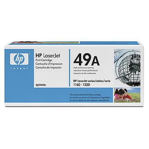 HP Q5949A, Toner Cartridge- Black, 1160, 1320, 3390, 3392- Original