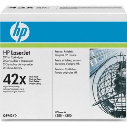 HP 1160, 1320, 3390, 3392 Toner Cartridge - HC Black Multipack Genuine (Q5949XD)