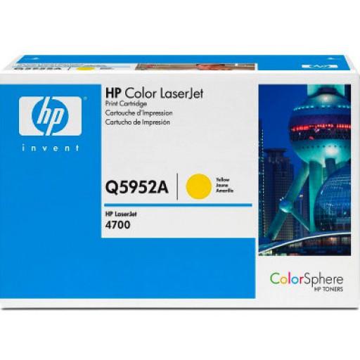 HP Q5952A, Toner Cartridge- Yellow, 4700- Genuine