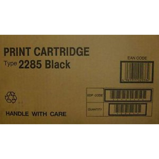 Ricoh  412477, Toner Cartridge Black, Type 2285- Genuine