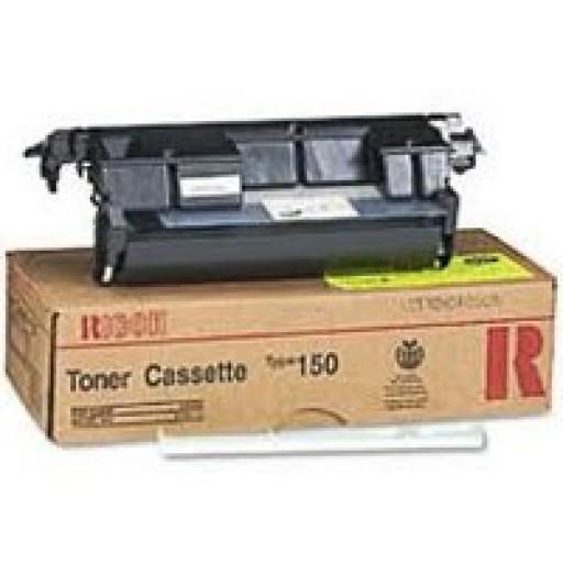 Ricoh 430230 Toner Cartridge Black, Type 150, Fax 2400L, 2700L, 3700L, 3800L - Genuine