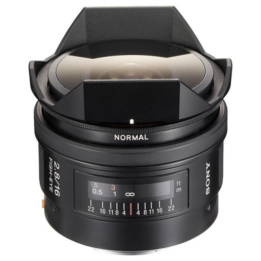 Sony SAL16F28 - Fisheye Lens