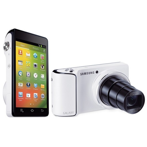 Samsung EK-GC 100, Galaxy White Digital Android Camera