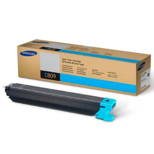 Samsung CLT-C809S/ELS, CLX-9201NA/9251NA/9301NA Toner Cartridge - Cyan