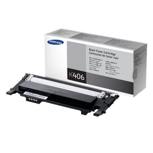 Samsung CLT-K406S, Toner Cartridge Black, CLP-360, 365, CLX3300, 3305- Original