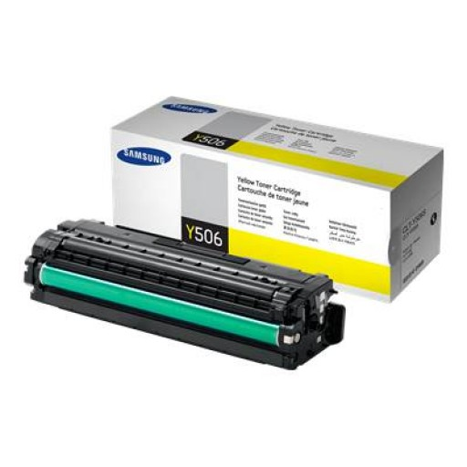 Samsung CLT-Y506S, Toner Cartridge Yellow, CLP-680, CLX-6260- Original