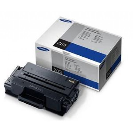 Samsung MLT-D203S Toner Cartridge, SL-M3320, M3370, M3820, M3870, M4070 - Black Genuine