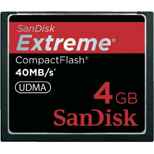 Sandisk 4GB Extreme Compact Flash Card