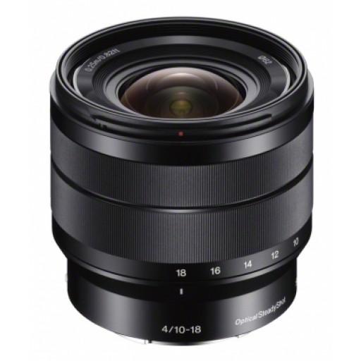 Sony Sel1018 E-mount lens