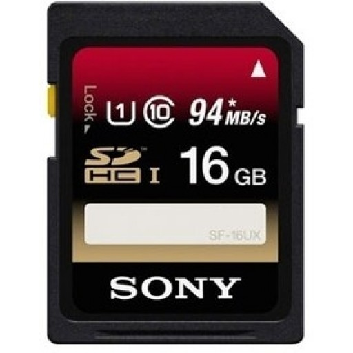 Sony 16GB Uhs-1 SDHC Memory Card 94Mbps - Class 4