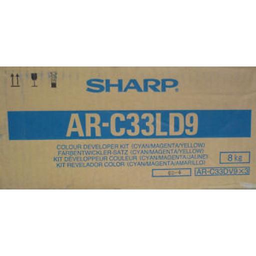 Sharp AR-C33LD9 Developer Kit, AR C160, C330 - Colour Genuine