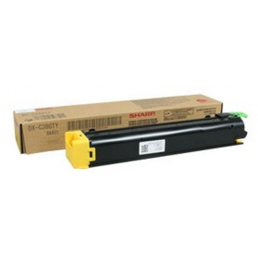 Sharp DX-C38GTY, Toner Cartridge Yellow, DX C310, C311, C380, C381, C400- Original