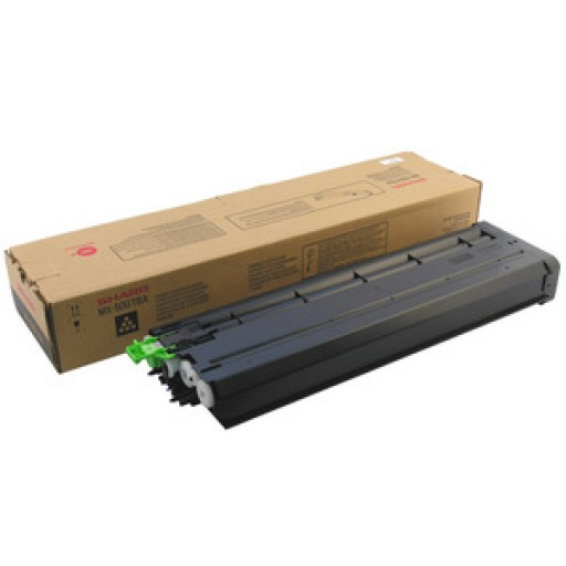 Sharp MX50GTBA Toner Cartridge, MX 4100N, 4101N, 5000N, 5001N, 5100N - Black Genuine