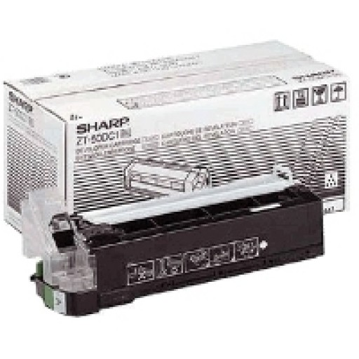 Sharp ZT-50DC1 Toner Cartridge / Developer, Z 52, 55, 57, 72, 75, 77, 82, 85, 87 - Black Genuine