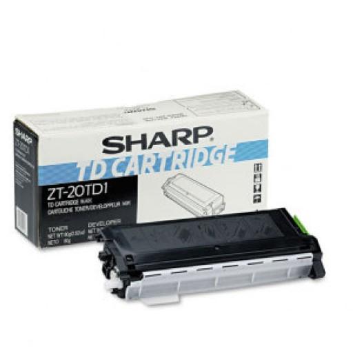 Sharp ZT20TD1, Toner Cartridge Black, Z 20, 23, 25, 27, 30- Original