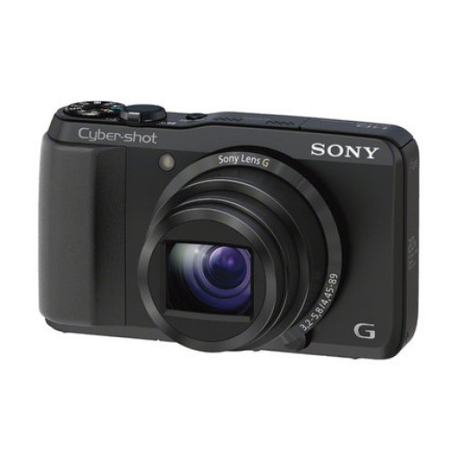 Sony DSC-HX20V, Black Digital Camera