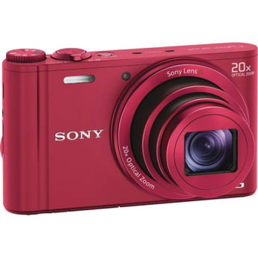 Sony DSC-WX300 Digital Compact Camera - In Red