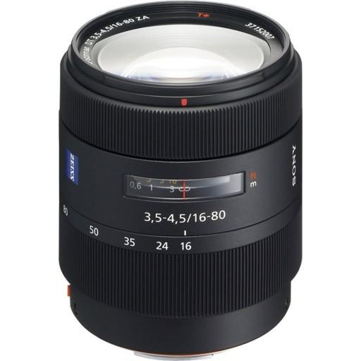 Sony Dt 16-80mm F3.5-4.5 Za Vario-Sonnar T lens