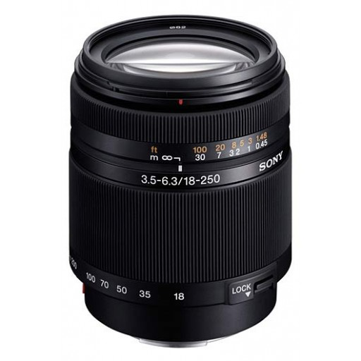 Sony DT 18-250mm F3.5-6.3 Lens