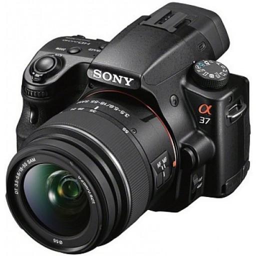 Sony SLT-A37K Digital SLR Camera - 18-55mm Lens