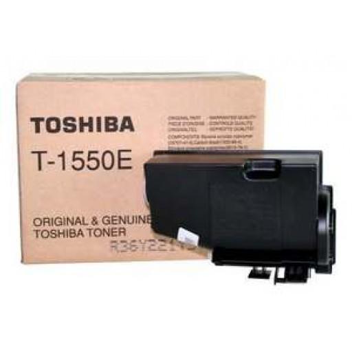 Toshiba T-1550E Toner Cartridge - Black Genuine