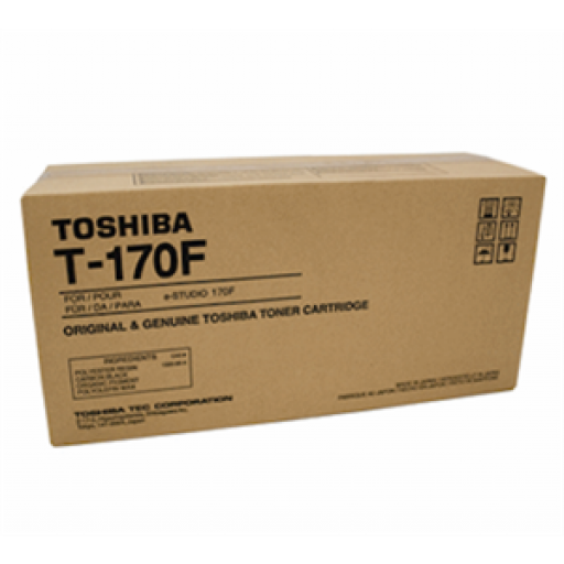 Toshiba T-170F Toner Cartridge - Black Genuine