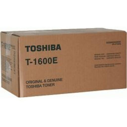 Toshiba T1600E, Toner Cartridge- Black, E-Studio 16, 20, 25, 160, 200, 250- Original