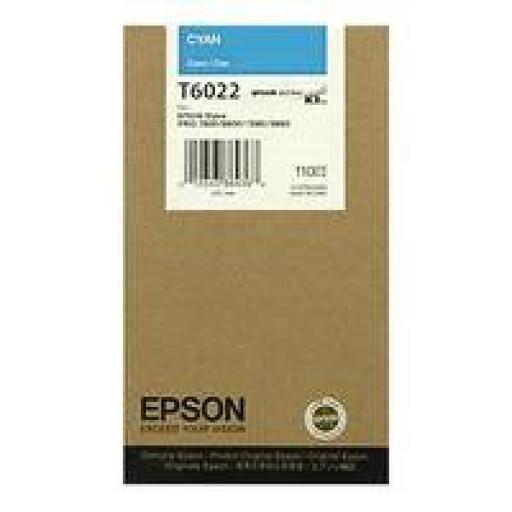 Epson T6022 Ink Cartridge - Cyan Genuine
