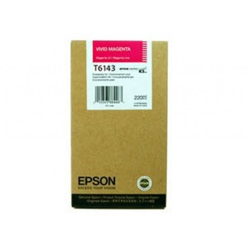 Epson T6143 Ink Cartridge - HC  Magenta Genuine