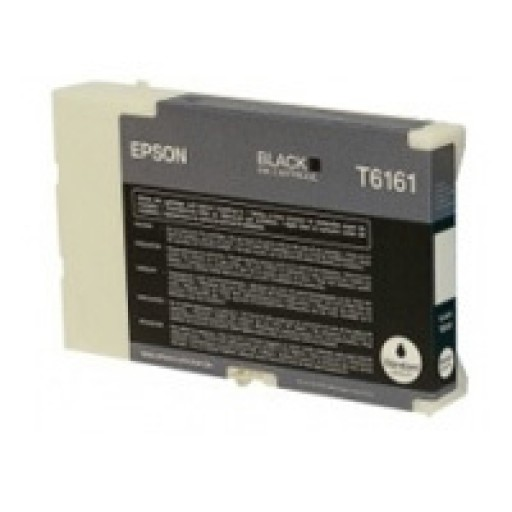 Epson T6161 Ink Cartridge - Black Genuine