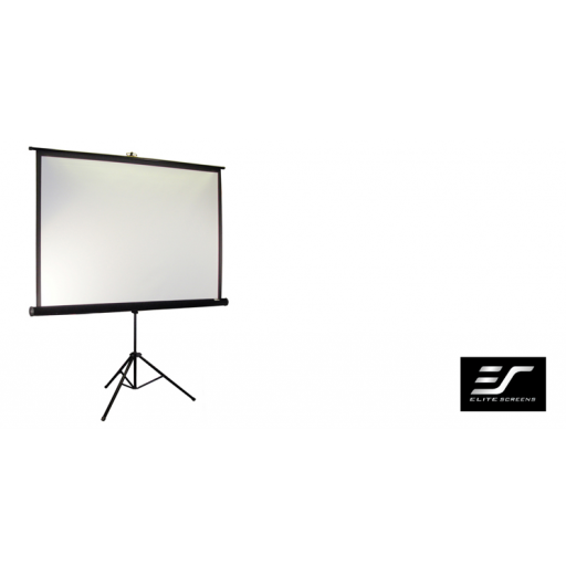 Elite T99NWS1-WHITE Tripod Pull up Projection Screen