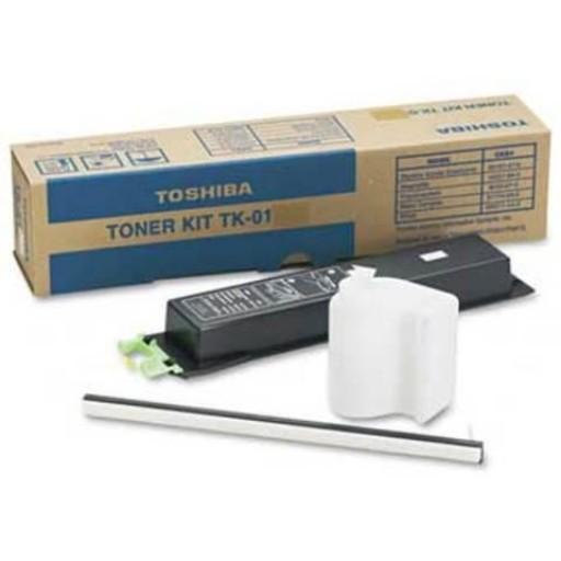 Toshiba TK-01, Toner Cartridge- Black, TF541, TF561, TF581- Original