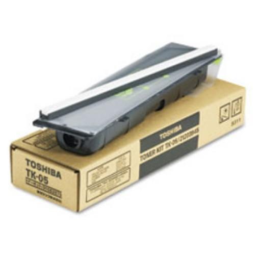 Toshiba TK-05, Toner Cartridge- Black, TF521, 531, 551, 621, 651, 831, 851, 861- Original
