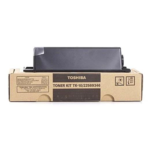 Toshiba TK-10, Toner Cartridge- Black, TF631, TF671- Original
