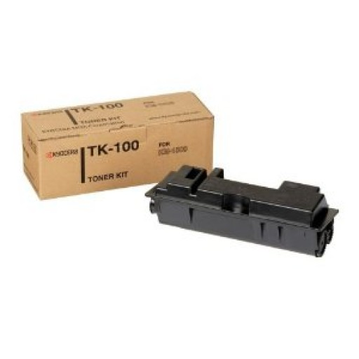 Kyocera Mita TK-100, Toner Cartridge- Black, KM 1500- Genuine