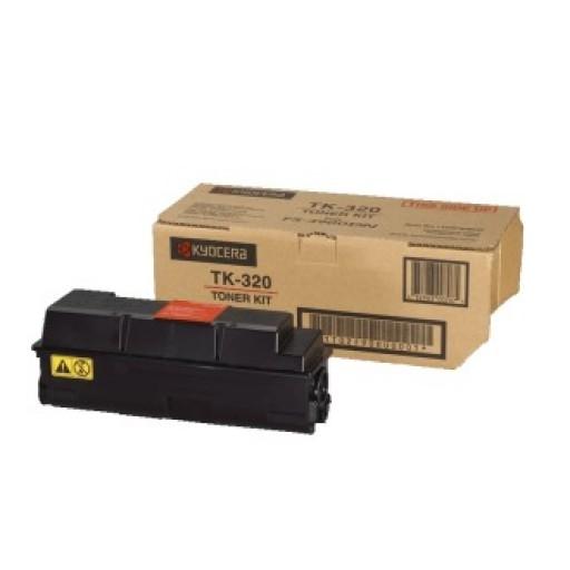 Kyocera TK-320, Toner Cartridge- Black, FS3900, FS4000- Original