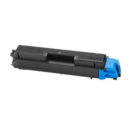 Kyocera TK590C, Toner Cartridge Cyan, FS-C2526, C2626, M6026, M6526- Original