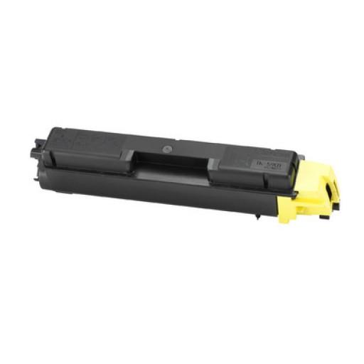 Kyocera TK590Y, Toner Cartridge Yellow, FS-C2526, C2626, M6026, M6526- Original