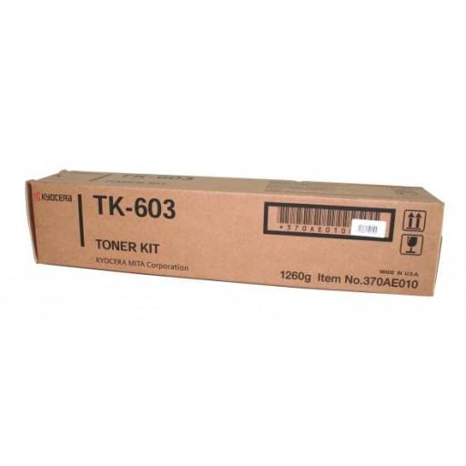 Kyocera Mita TK-603 Toner Cartridge - Black Genuine