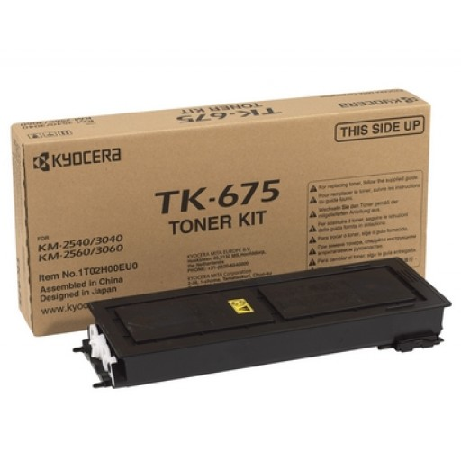Kyocera Mita TK-675, Toner Cartridge Black, KM2540, 2560, 3040, 3060- Original
