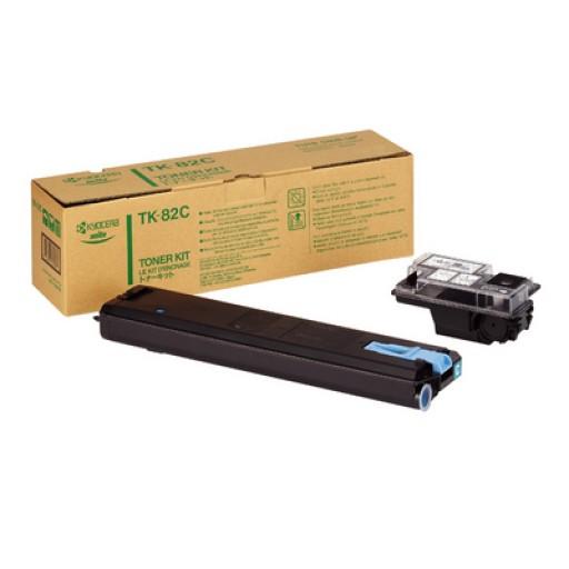 Kyocera Mita TK-82C, Toner Cartridge Cyan, FS 8000- Original