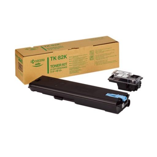 Kyocera Mita TK-82K, Toner Cartridge- Black, FS 8000- Original