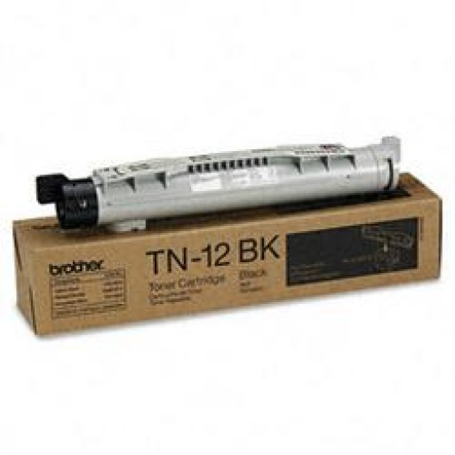 Brother TN-12BK, Toner Cartridge Black, HL4200CN- Original
