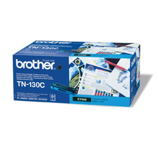 Brother TN130C, Toner Cartridge- Cyan, DCP9040, 9042, HL4040, 4050, MFC9440, 9450- Genuine