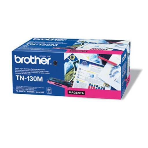 Brother TN130M, Toner Cartridge- Magenta, DCP9040, 9042, HL4040, 4050, MFC9440, 9450- Genuine